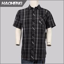 2016อาลีบาบาประเทศจีนมีประโยชน์ตรวจสอบผ้าฝ้าย100%poplinเสื้อขายส่งที่มีคุณภาพสูง