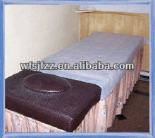Disposable polypropylene PP spunbond nonwoven bed sheet fabric/massage table cover