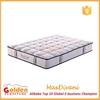 Bedroom furniture modern sleepwell 100% natural latex mattress price GZ2014-8#