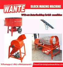 WANTE MACHINERY WT1-10 brick machine line/brick machine for myanmar/machine brick