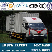 JMC 7 Ton Cargo Truck, Van truck,4x2 truck 156hp engine power for sale