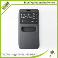 China custom flip leather cover case for tecno Z