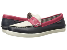 Hot sell women leather loafer casual shoes