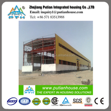 Prefabricated low cost Steel structure Workshop