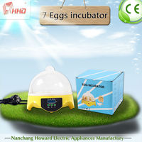 Newest family type very popular full automatic high quality brand incubator for sale YZ9-7