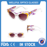 2015 new year party glasses fashion cateye sunglasses