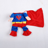 Superman Fashion Dog Clothes Cat Clothes Pet Products Hot Sell Factory Produce Dog Clothes
