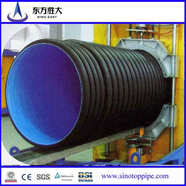 Ipe Bois Toxique : Large Diameter HDPE Corrugated Pipe