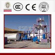 Pollution-free Used Tire Pyrolysis Oil Distillation Plant, Used Oil to Diesel Pyrolysis and Distillation Plant