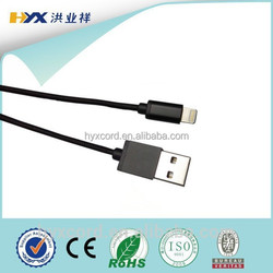 for APPLE lightning cable to usb cable c48 connector mfi certified cable