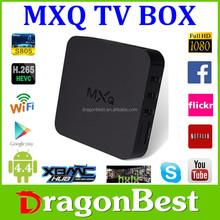 best mxq s85 amlogic s805 hd/xbmc 4k Quad Core 1.5GHz mxq tv box sex xxl android live tv box