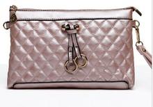 European sling plaid women handbags bags fashion ladies pu bag