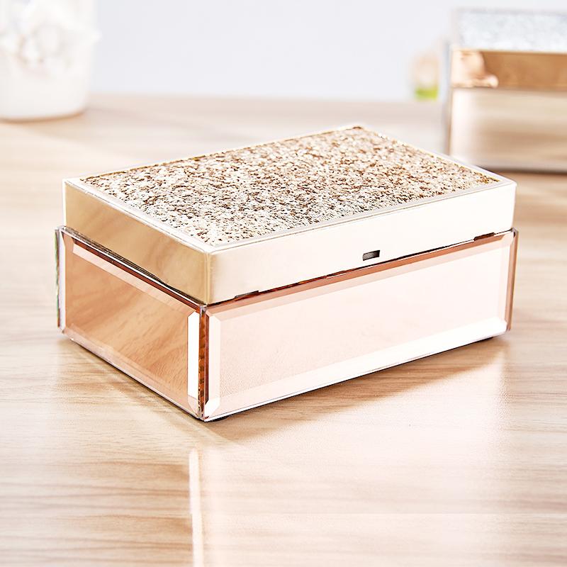 Boîte à bijoux décorative de style chinois de haute qualité