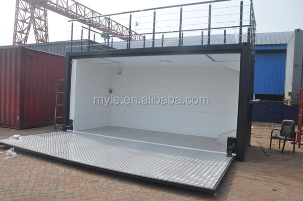 20ft Hydraulic Swing Dooor Container Expandable