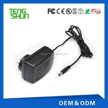 ac/dc adapter charger/power supply with 3.2v 3.7v 4.2v 4.3v 4.5v 4.7v 5.2v and 5.4v dc output
