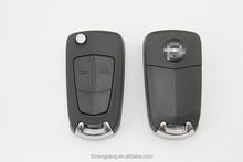 Originalersatzteile 2-tasten-flip schlüssel fall für opel schlüssel shell fabrik