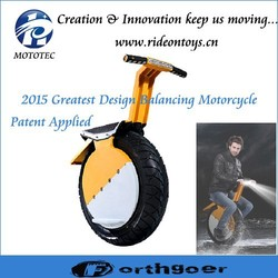 One Big Wheel Motorcycle Balancing Electric Scooter for Adults
