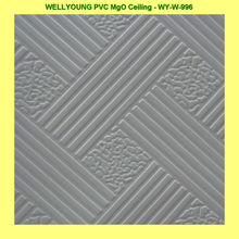 PVC poly vinyl covering for ceiling panel
