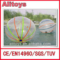 2014 hot transparent water balls, water walking ball clear inflatable bubble ball for summber