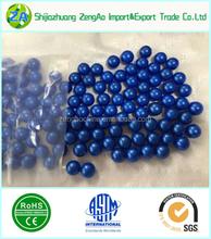 Esfera azul do natal decoração de natal bolas de vidro azul