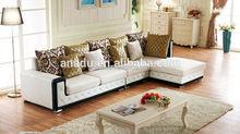 2015 leather lounge sofa home furniture fashion extra large sofas l shape fabric corner sofa