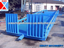 10 toneladas rampa hidráulica de elevación, rampa de coches ascensor, camiones de carga de elevación