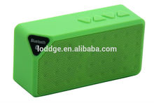 Bluetooth speaker with FM radio and TF card
