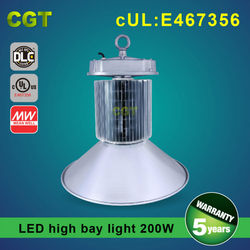 Led high bay lite 200W with UL DLC approved IP65 SAMSUNG chip Meanwell driver