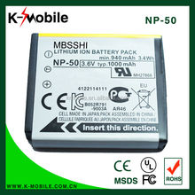 Wholesale Replacement Digital Camera Battery Li-ion battery NP-50 for Fujifilm