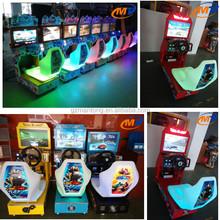 brilliant outlook Outrun 22 LCD token arcade simulator game machine car racing bike vedio game machine for children game center