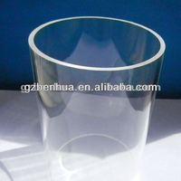 Clear acrylic tube /pmma pipes /transparent plexiglass tube