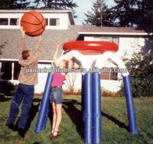 inflatable basketball sports game