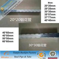 high glossiness galvanized empaistic pipes , satin tube