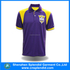 100% polyester Dry fit golf tees custom golf polo shirt men