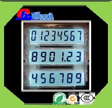 custom digital segment lcd display,Petrol pump dispenser/fuel dispenser display
