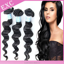 2015 new fashion soft and velvet Brazilian loose wave
