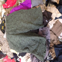 second hand men's 3/4 of pants pocket pants
