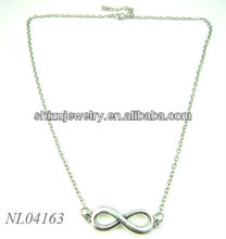 rhodium one direction necklace by luck jewelry bar