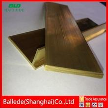 Shanghai per kg brass glass partition building materials