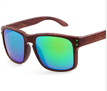 New Vogue Wood Sunglasses Men Fashion Brand Designer Square Sport Outdoor Sun Glasses 11 Color Gafas de sol oculos masculino