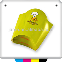 Rectangle paper food take out fried chicken and bakery box packing