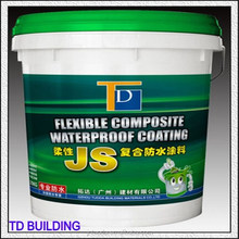 doule components flexible waterproofing layer coating with 20kg per plastic barrel