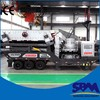 SBM portable mounted impact crusher in the stone quarry plant germany