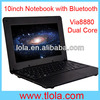 Cheap 10 inch Kids Notebook Computer with Via8880