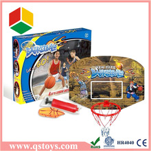 Hanging leisure basketball board, basketball stand with Basketball and Air Pump