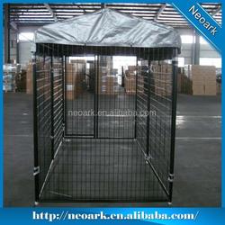 Powder coated dog kennel, 6'x5'x10' dog kennel