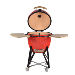 Outdoor living cookware wood fired kamado grill parts