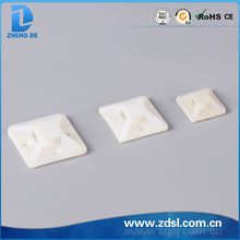 Hot Sale Nylon66 Self-adhesive Cable Tie Mount