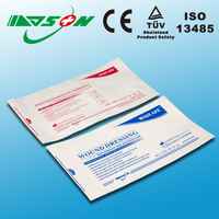 Medical sterile paper pouch for surgical gloves