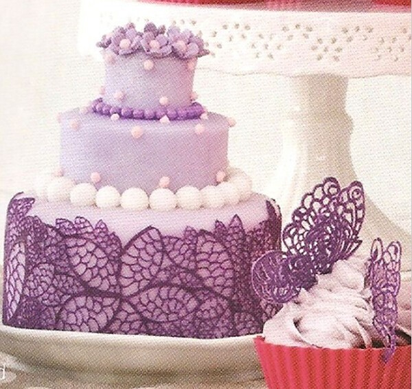 Новый кружевной цветок формы силиконовые торт помадной шоколад облицовочные мат плесень кухня посуда для запекания выпечки приготовления инструменты